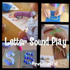"Kinder Max on Twitter: ""Letter Sound Play #irwkinderland #tldsblearns #fdk #eytalking #playbasedlearning #reggioinspired #reggioplc #play #ey http://t.co/EdmG9EsZPd"""