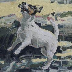 """Tor-Arne Moen: """"STUDY OF JUMPING DOG"""""""