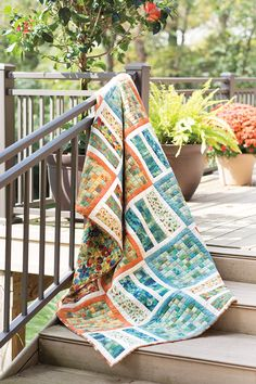 Update your home decor with a new quilt. Whether your style is trendy or traditional, this quilt will fit right in.