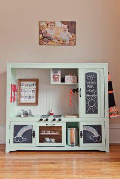 TV Stand Kitchen by lukeandleephotography, via Flickr
