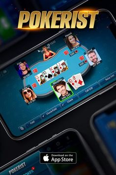 Who will you meet at the poker table? Download Pokerist and find out. Texas Holdem, Omaha, Blackjack, and many more games, all in one app. Play for free and challenge the entire world!