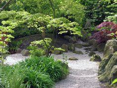 stone placement examples for a Japanese garden - Szukaj w Google