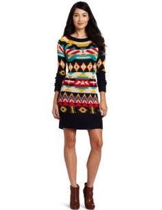 Jessica Simpson Women's Long Sleeve Sweater Dress #jessicasimpson #womensdress #longsleeve #sweaterdress #dress #womensdress