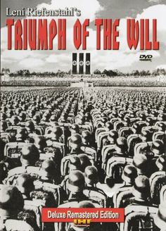 Triumph of the Will Remastered Deluxe Edition  -- DVD -- Complete and uncut from International Historic Films, the Nazi propaganda masterpiece that brought Leni Riefenstahl both fame and infamy (stars Adolf Hitler as the plucky comic relief). #WWII #History