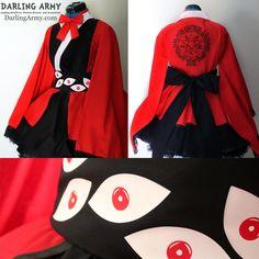 Alucard Hellsing Cosplay Kimono Dress Commission by DarlingArmy