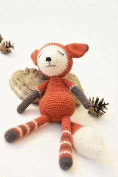 Mystique the Fox amigurumi by lilleliis