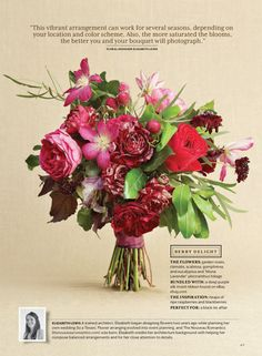 "Southern Living Weddings 2013 Edition // ""Romantic Bouquets"" Story; Photography by Stephen Karlisch"