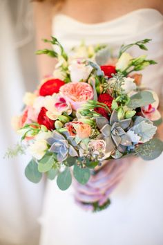 Back to Main Wedding Bouquet Gallery Tropical wedding bouquet - jana morgan. Tropical Wedding Bouquets, Navy Wedding Flowers, Flower Bouquet Wedding, Floral Wedding, Bouquet Flowers, Tropical Weddings, Succulent Bouquet, Bridal Bouquets, Red Flowers