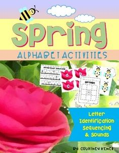 Spring Alphabet Activities {Letter Identification, Sequencing & Sounds}This packet contains flashcards and templates to use for alphabet activities including letter identification, letter sounds and more.  It has a springtime theme with bees, flowers & grass.Contents:Lowercase letter alphabet flashcards (7 pages)Capital letter alphabet flashcards (7 pages)Sequencing (letter writing) templates (3 pages)Bingo Board Templates {SPRINGO!} (2 pages)Flashcards with letter sound pictures (7 page...