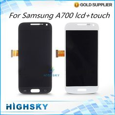 115.88$  Watch here - http://aliawb.worldwells.pw/go.php?t=32378811943 - Test Black White Screen For Samsung Galaxy A7 A700 LCD With Touch Digitizer Display Complete 1 Piece Free Shipping New Brand