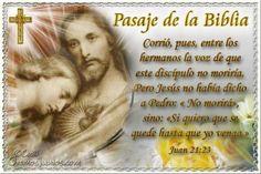 Vidas Santas: Santo Evangelio según san Juan 21:23