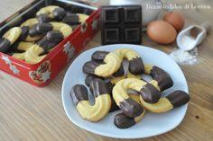 Archetti al cioccolato sono dei buonissimi biscotti al cioccolato, fatti con metà farina bianca di grano tenero e metà farina di mais...