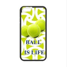 fashion tennis-ball is life Apple iphone 6 4.7''Plastic and TPU(Laser Technology) Durable Case, Cell Phone Cover * More info could be found at the image url.