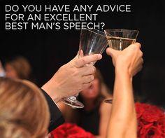Do You Have Any Advice for an Excellent Best Man's Speech? Best Man Wedding Speeches, Wedding Vows, Plan Your Wedding, Wedding Planning, Wedding Ideas, Best Man Speech, Wedding Etiquette, Good Jokes, Friend Wedding