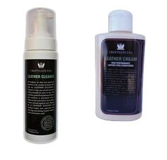 LEATHER CLEANER & CREAM - Croftgate italia
