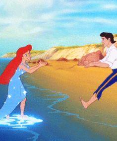 princess the little mermaid ariel Eric mermaid prince movie 1