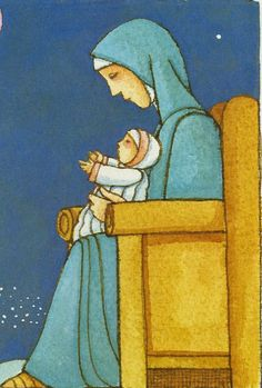 Mary and the Baby Jesus by Tomie dePaola. The Official Tomie dePaola Blog