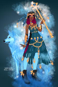 Sara Kaun Scene Maker 14 by on DeviantArt Doll Divine, Dress Up Dolls, Up Game, Really Cool Stuff, Folk, Scene, Rupaul Drag, Wonder Woman, Princess Zelda