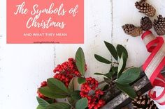Find out what your Christmas decorations actually represent, what the symbols of Christmas are and their important meaning. Christmas Printables, Christmas Themes, Christmas Crafts, Christmas Decorations, Holiday Games, Holiday Parties, Holiday Ideas, Winter Festival, Christmas Dishes