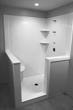 Whitewater   Cultured Marble Subway Tile   Shower IDEA #3