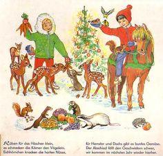 Weihnachtzeit-Kinderzeit Bilderbuch 50iger
