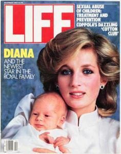 1984: News and article clippings of Prince Harry's birth