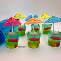 !!! Yum Jello shots... Great non alcoholic jello for the kids too.. Parties or whatever!!!