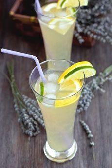 Lavendar Lemonade from The Nibble