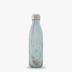 S´Well Beach Cottage Collezione Wood bottiglia - S´well - bottiglie, thermos, acciaio inox, Swell Water Bottle, Water Bottle Design, Water Bottles, Thermal Bottle, Insulated Water Bottle, Blonde Wood, Beach Cottages, Stainless Steel Water Bottle, Sustainable Design