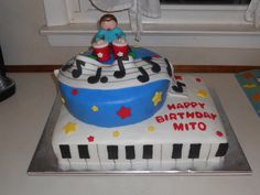 Mito's b-day cake