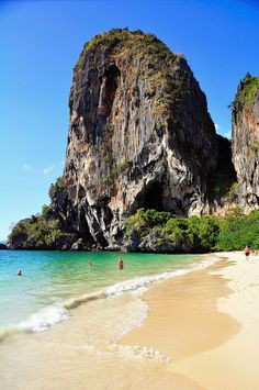 "The beach on Koh Phi Phi in Thailand is one of the most amazing white sand beaches we have ever visited. This is also where they filmen ""The Beach"" staring Leonardo DiCapiro. Really a wonderful location and a fantastic beach!"