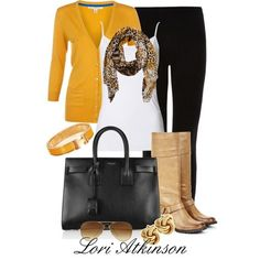 """""""Fall Outfit"""" by Lori Atkinson on Polyvore"""