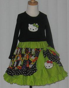 Peek a boo skirt