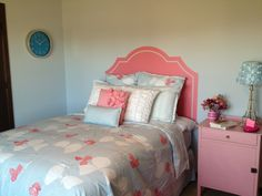 Used an Uppercase Living headboard