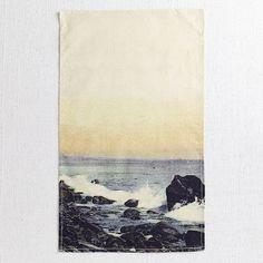 Surf's Up! Summer-themed tea towel.