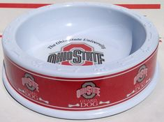 OSU Heavy Duty Dog Food Pet Bowl 'THE OHIO STATE UNIVERSITY GUARD DOG' Pet Dish (Available in 3 Sizes) *** Continue to the product at the image link.