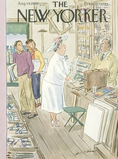 The New Yorker - Saturday, August 19, 1950 - Issue # 1331 - Vol. 26 - N° 26 - Cover by : Helen E. Hokinson