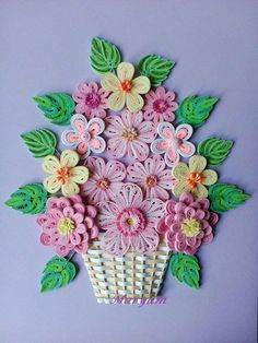 Net Quilling Flowers Tutorial, Paper Quilling Flowers, Paper Quilling Cards, Paper Quilling Jewelry, Origami And Quilling, Paper Quilling Patterns, Quilling Ideas, Quilling Dolls, Quilling Work