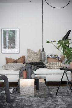 A Small and Serene Scandinavian Apartment