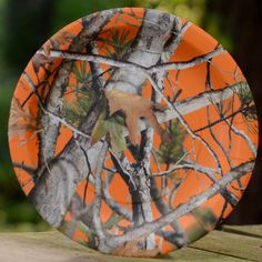 "Camo Celebrations  - Orange Camo 9"" Dinner Plates 8-Pack, $2.99 (http://www.camocelebrations.com/orange-camo-9-dinner-plates-8-pack/)"