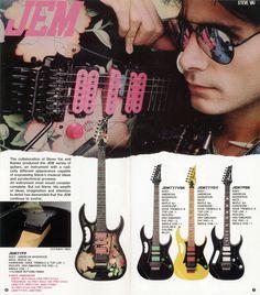 Steve Vai (Ibanez Catalog)