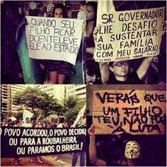 cartazes | Tumblr #VemPraRua #OGiganteAcordou #ForaFeliciano #ForaFelicianus #ForaRenan #NaoPec37 #ChangeBrazil #SemViolencia