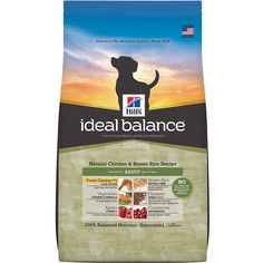 Ideal Balance Natural Chicken and Brown Rice Recipe Dry Dog Food * Remarkable product available now. : Best dog food