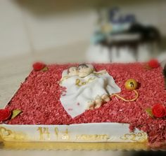 Cake for 14th anniversary of marriage...fourteen years together...❤❤