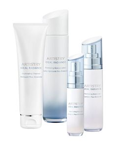 System With Illuminating Moisturizer. Artistry Ideal Radiance.