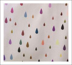 Babybites.co.nz - Kids Wallpaper - Coloured Droplets