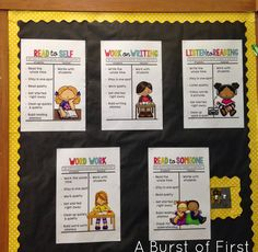 Do you Daily 5? Grab these amazing free anchor charts to create independence for your students.