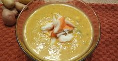 What's this? Oh, another soup.      Predictable? Yes.      Worth it? Oh yeah.     This light chowder is super rich and creamy with c...