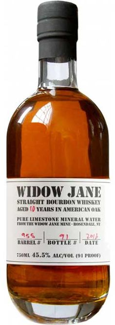 Caskers Selection: Widow Jane 8 Year Old Single Barrel Kentucky Bourbon Whiskey - Caskers Whisky, Bourbon Whiskey, Scotch Whiskey, Whiskey Label, Rum Bottle, Liquor Bottles, Whiskey Decanter, Whiskey Bottle, Whiskey Glasses