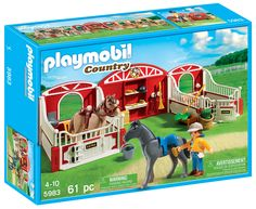 Playmobil country pony stable - Idea for Meg.